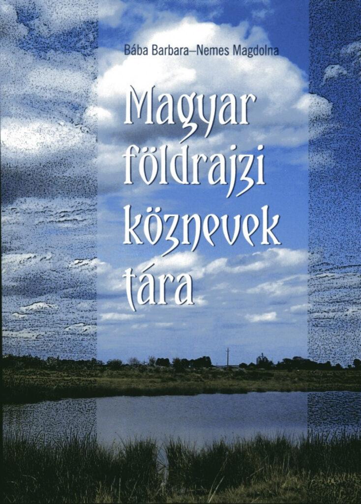 Magyar földrajzi köznevek tára